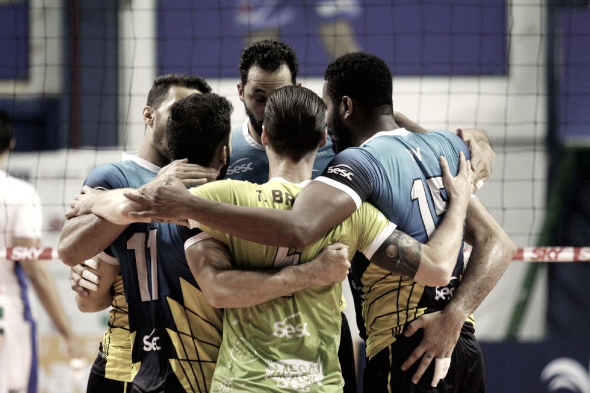 Sesc RJ vence Campinas novamente e avança às semifinais da Superliga Masculina
