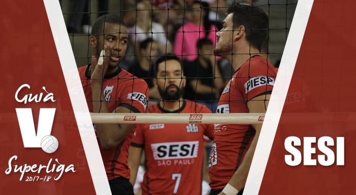 Guia VAVEL Superliga Masculina de vôlei 2017/2018: SESI-SP