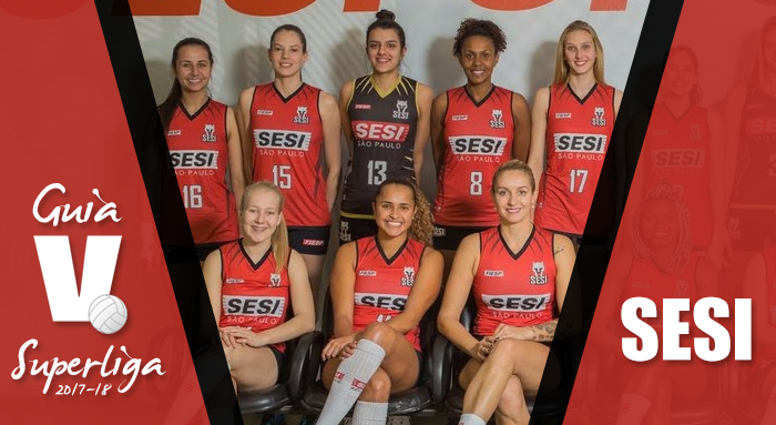 Guia VAVEL Superliga Feminina 2017/2018: Sesi-SP