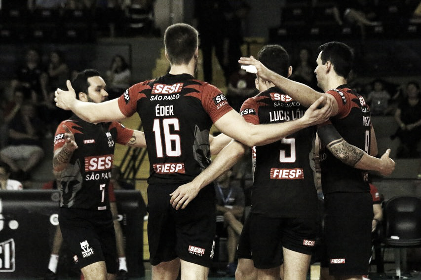 Sesi-SP vence Campinas fora de casa e segue invicto na Superliga