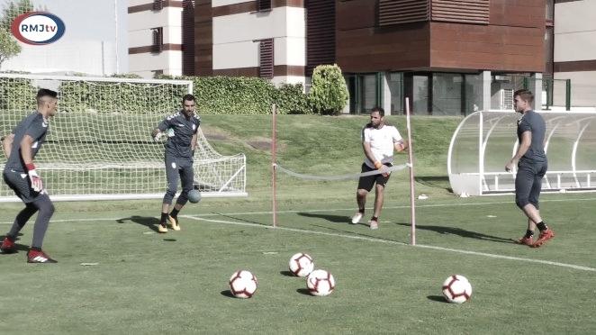Continúa la preparación para el duelo ante la UD Las Palmas