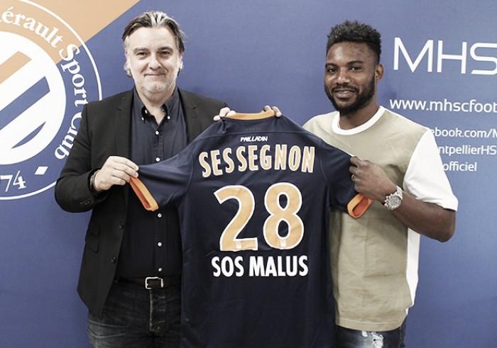 Sem clube desde julho,Stéphane Sessègnon assina com Montpellier por duas temporadas