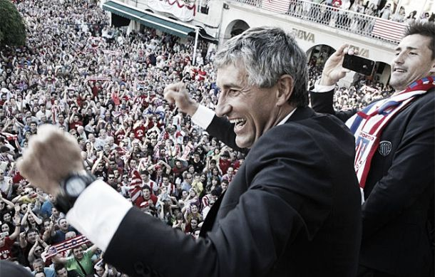 """Quique Setién: """"Gracias a mis jugadores, hemos hecho una campaña extraordinaria"""""""