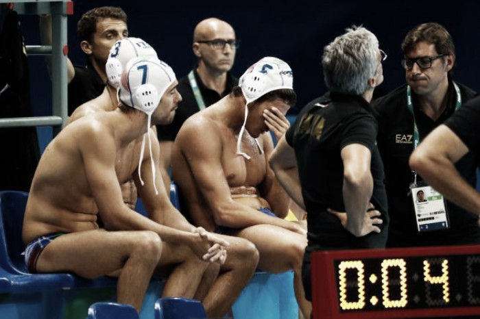 """Rio 2016, la delusione di Campagna e del Settebello: """"Approccio timoroso"""""""