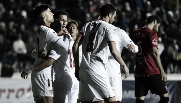 Joaquín Correa brilha e Sevilla goleia modesto SD Formentera na Copa do Rei