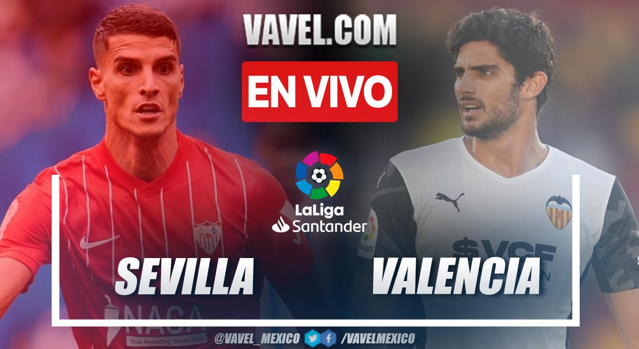 Resumen y goles: Sevilla 3-1 Valencia en LaLiga Santander 2021-22
