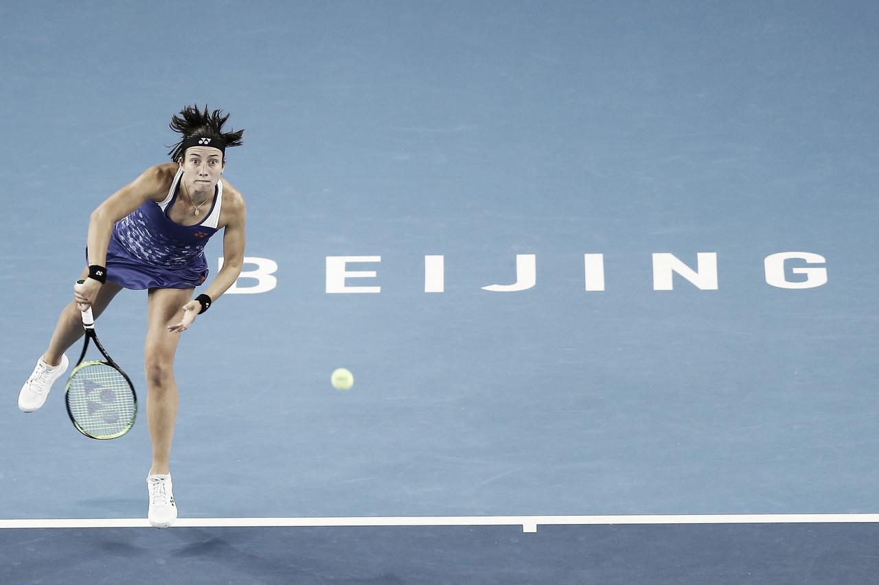 Sevastova avança em Pequim após bater Cibulkova
