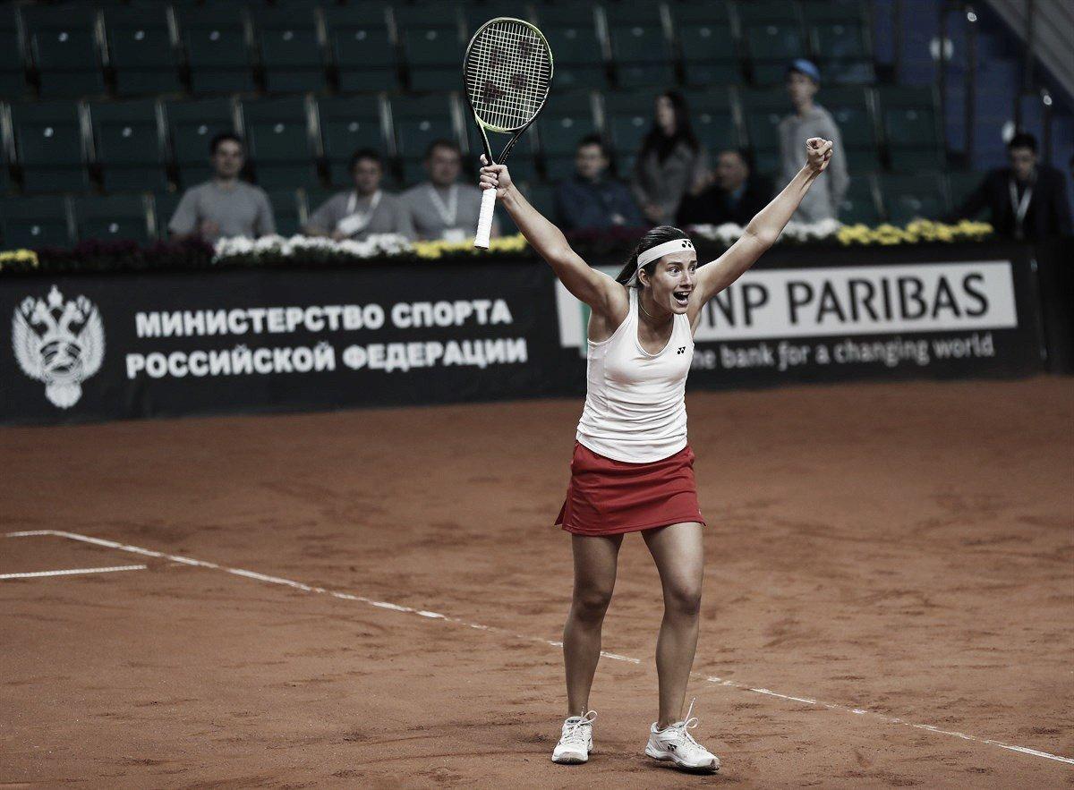 Fed Cup: Anastasija Sevastova stuns Ekaterina Makarova, relegates Russia into the Zonal Groups