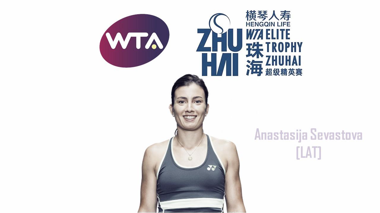 Anastasija Sevastova qualifies for WTA Elite Trophy
