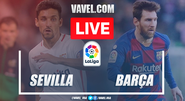 Full Highlights: Sevilla FC 0-0 FC Barcelona in 2020 La Liga