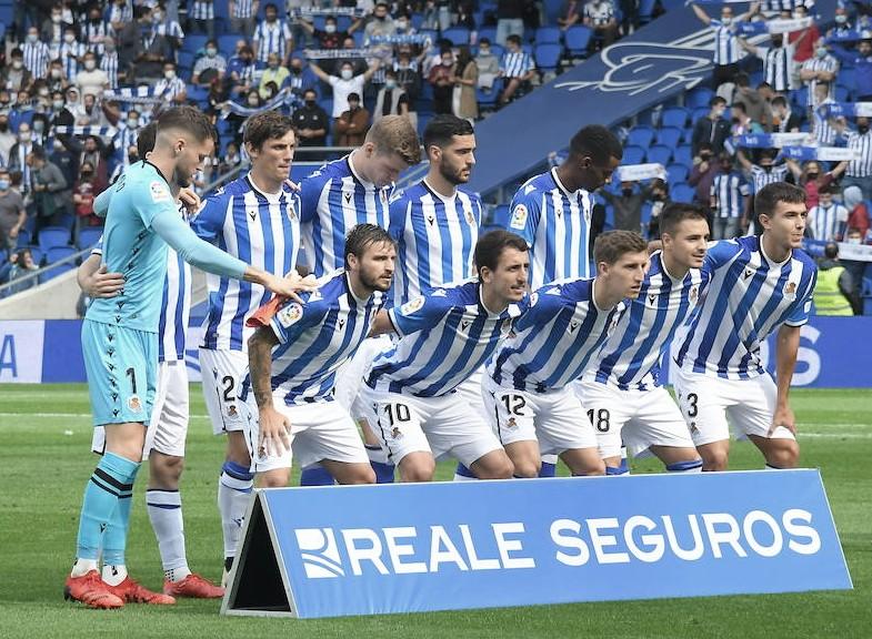 Real Sociedad - Sevilla: puntuaciones de la Real Sociedad, jornada 5 de LaLiga Santander