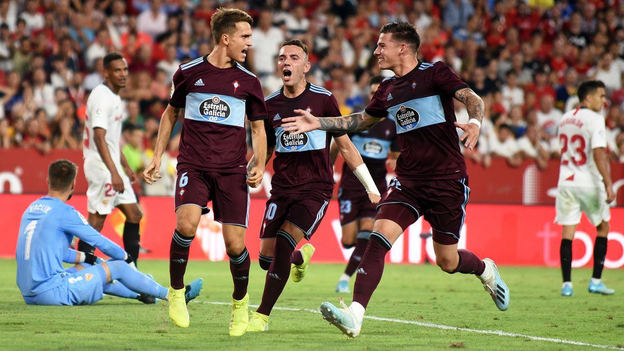 Celta de Vigo vs Sevilla FC EN VIVO y en directo ONLINE en LaLiga Santander 2020