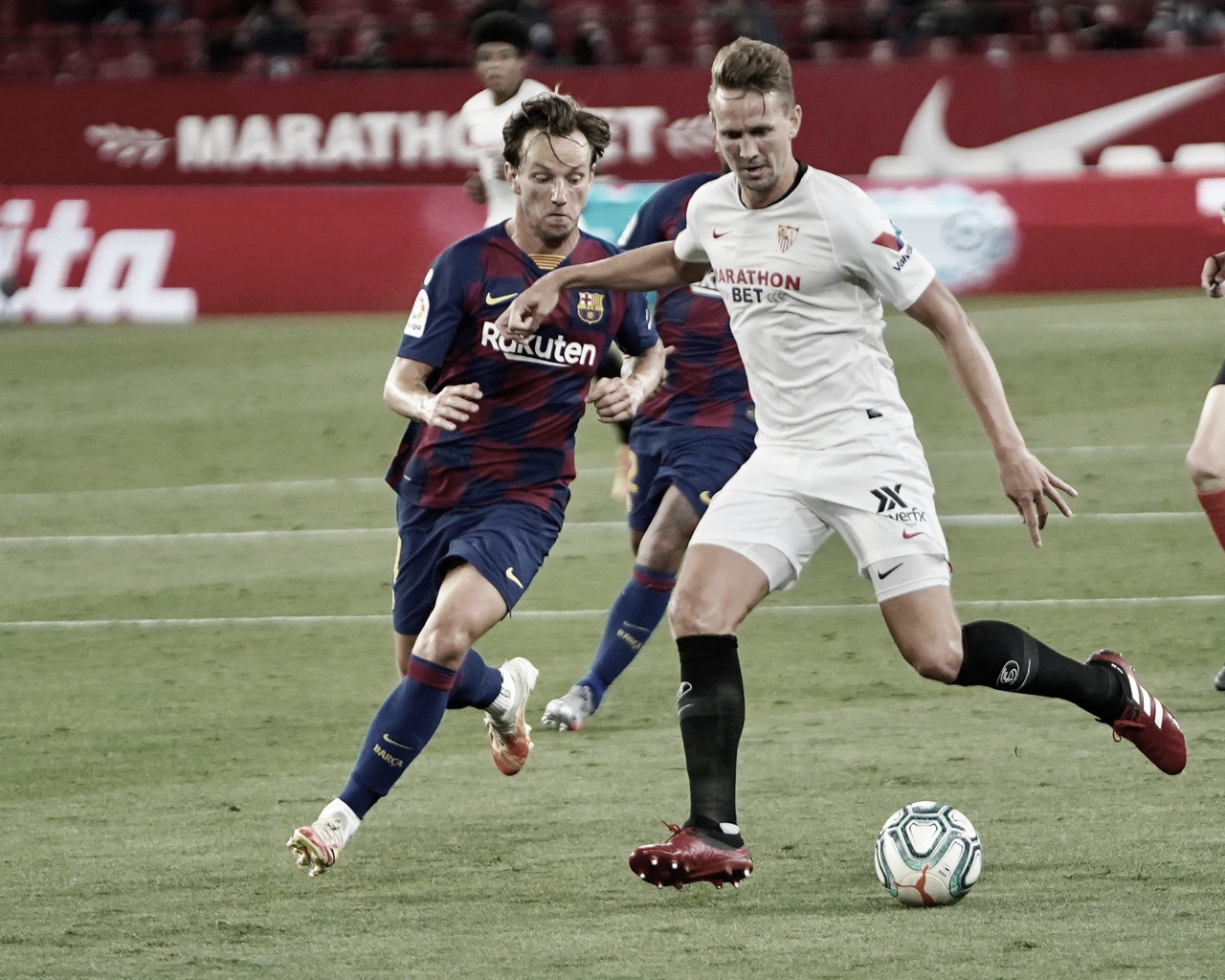Sevilla FC vs FC Barcelona: puntuaciones del Sevilla, 30ª jornada de LaLiga