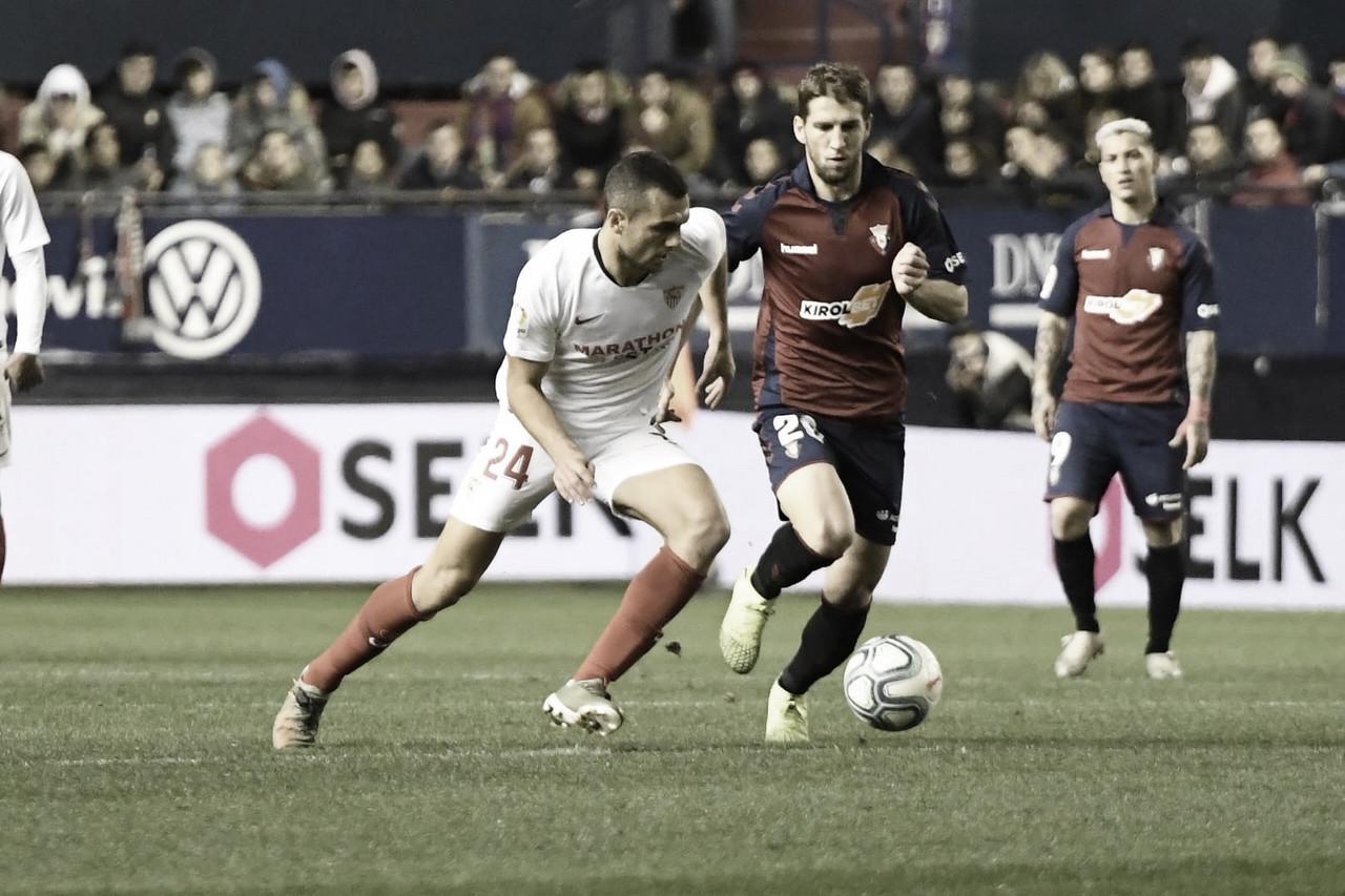 Previa Sevilla FC - CA Osasuna: examen para los hispalenses