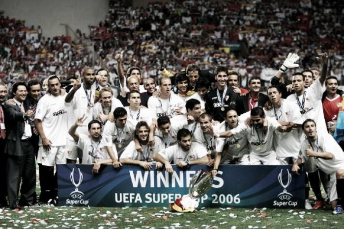 Relembre: em 2006, Sevilla de Luis Fabiano deu show e venceu Barcelona de Ronaldinho