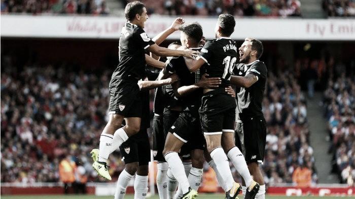 El Sevilla triunfó en Emirates