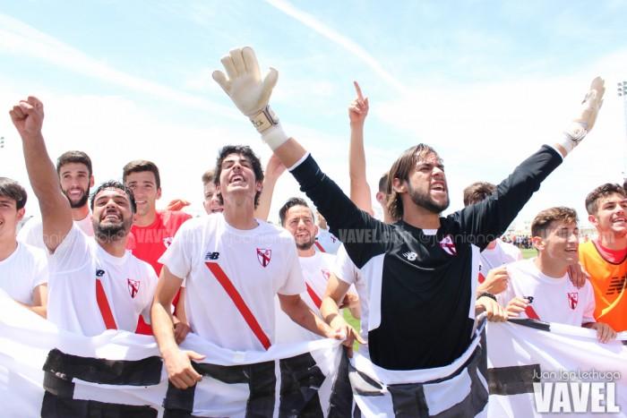 Fotos e imágenes del Sevilla Atlético 0-0 Logroñés, fase de ascenso a Segunda