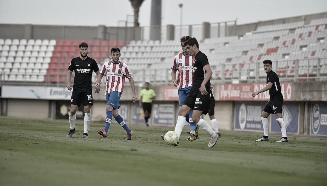 Imagen del amistoso del Sevilla Atlético frente al Algeciras. Foto: sevillafc.es