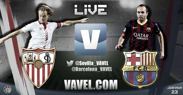 Resultado Sevilla - Barcelona en la Liga 2014
