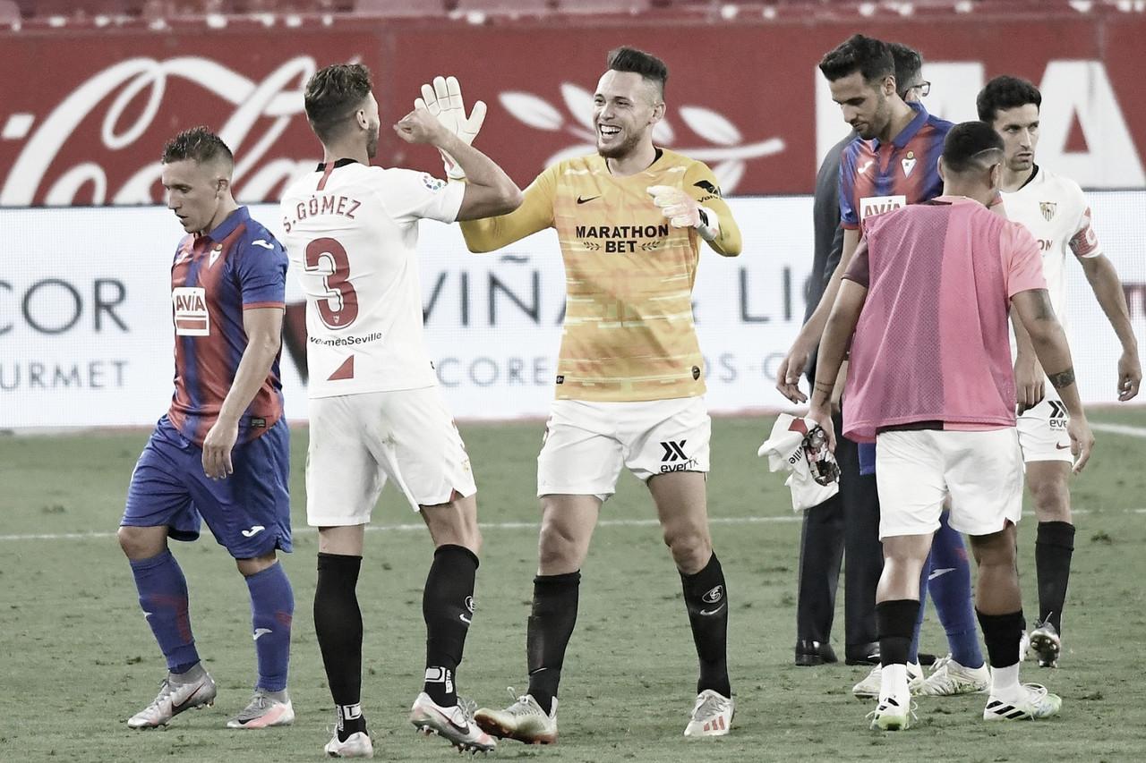 Resumen Sevilla vs Eibar en LaLiga Santander 2020/21