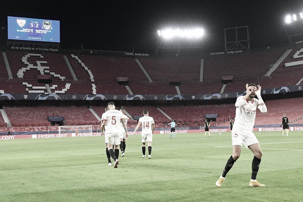 El paso del Sevilla FC por la Champions League