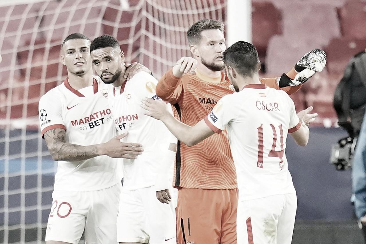 Krasnodar - Sevilla: puntuaciones del Sevilla, Jornada 4 Champions League 2020/21