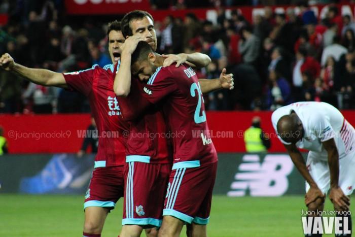 Fotos e imágenes del Sevilla 1-2 Real Sociedad, jornada 31 de Primera División