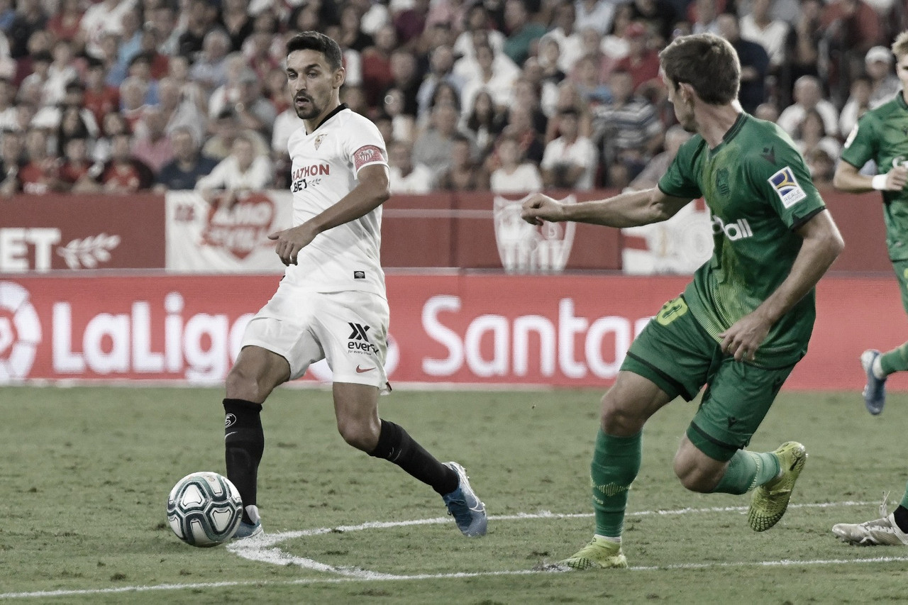 Real Sociedad - Sevilla FC: puntuaciones del Sevilla FC, 37ª Jornada de LaLiga