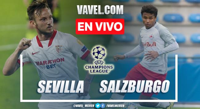 Goles y resumen del Sevilla 1-1 RB Salzburgo en UEFA Champions League 2021