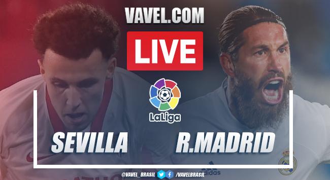 Gols e melhores momentos Sevilla 0x1 Real Madrid pela LaLiga