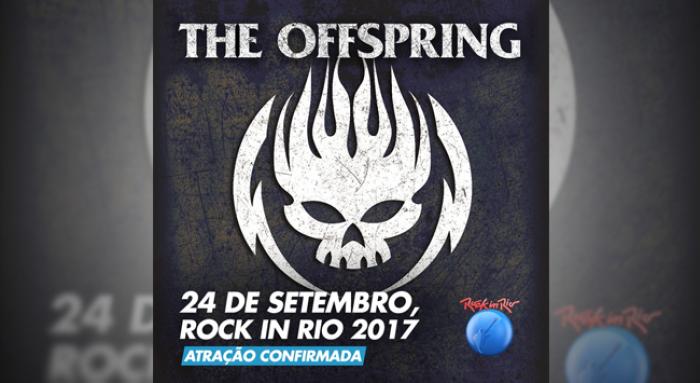 Após suspense, Rock in Rio confirma The Offspring para o dia 24 de setembro