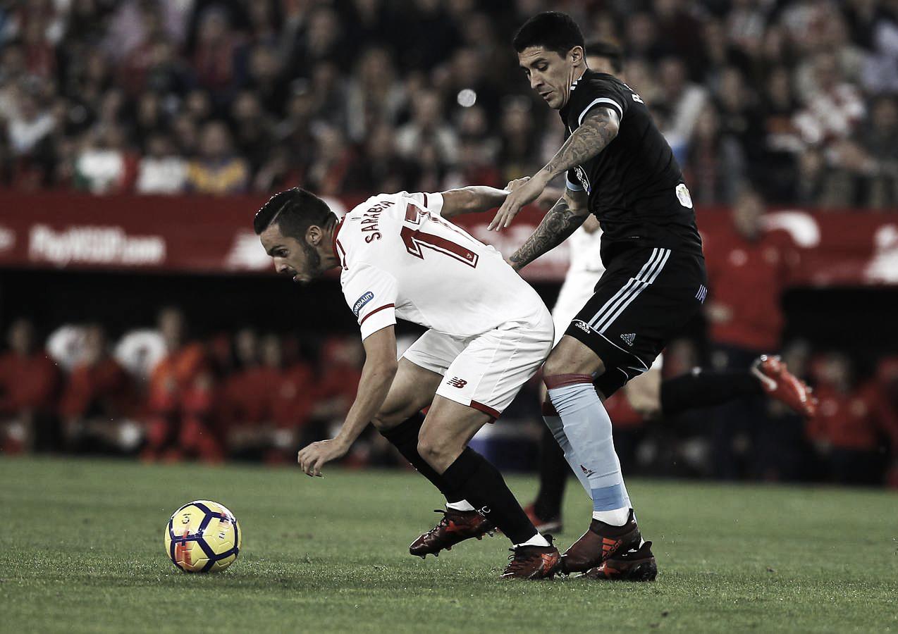 Resumen Sevilla FC vs RC Celta de Vigo en LaLiga Santander 2018 (2-1)