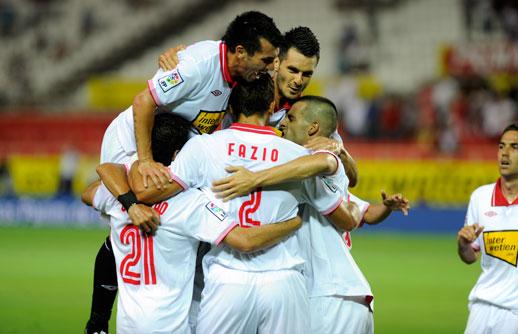 Trabajada victoria del Sevilla ante el Getafe