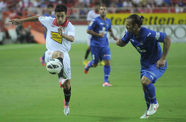 Sevilla - Getafe: puntuaciones del Sevilla, jornada 1