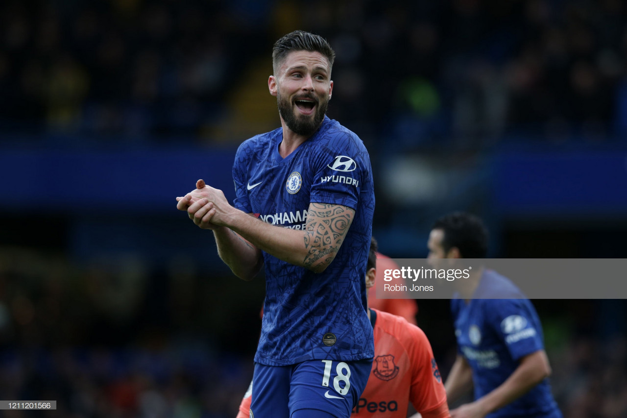 Olivier Giroud on Frank Lampard's favourite phrase and his talented older brother