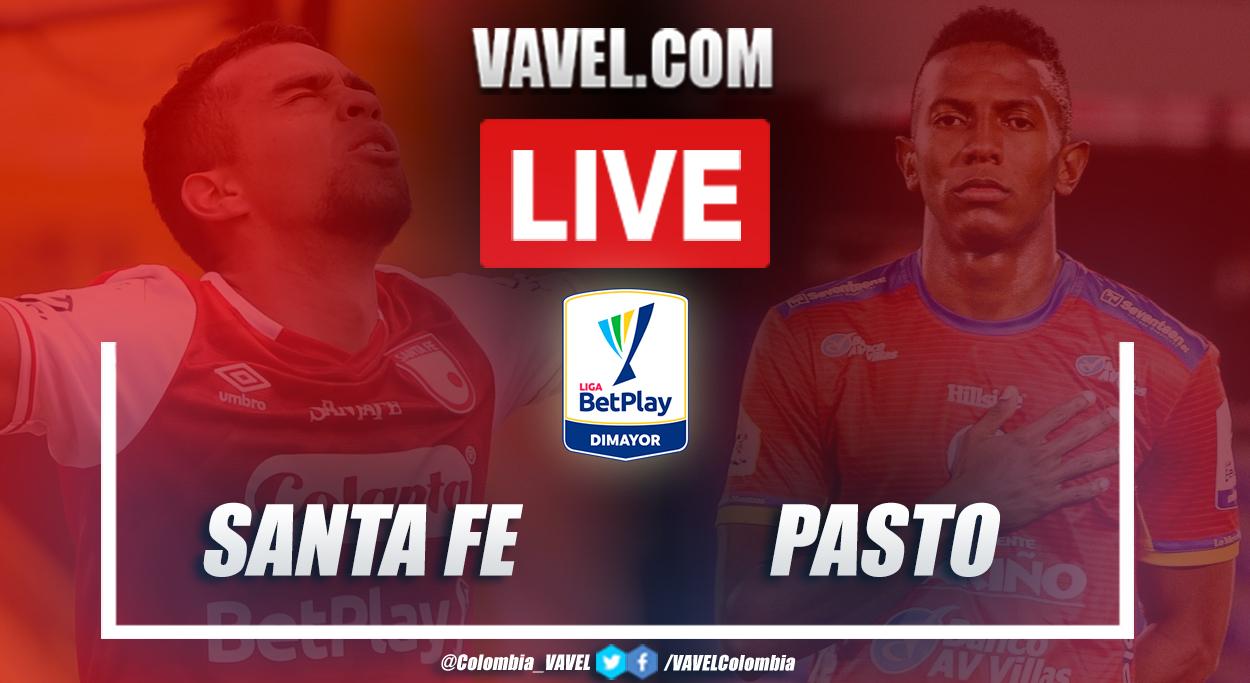 Resumen Santa Fe vs Pasto en Liga BetPlay 2020 (2-0)