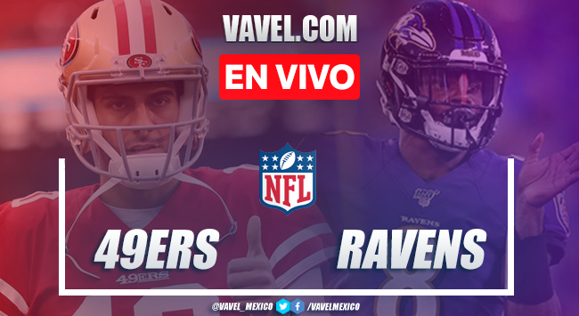 Resumen y touchdowns: San Francisco 49ers 17-20 Baltimore Ravens en NFL 2019