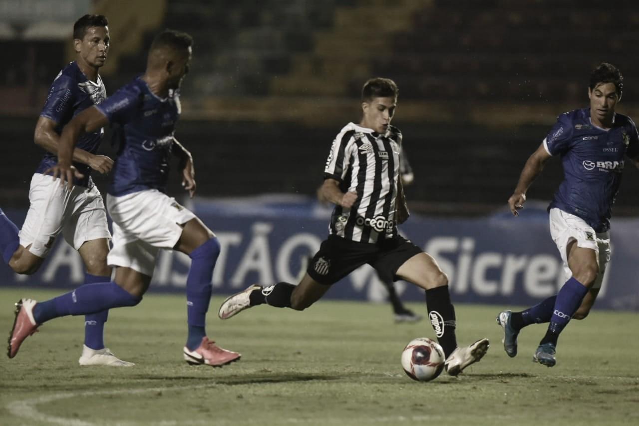 Com reservas, Santos empata com Santo André na estreia do Paulistão 2021