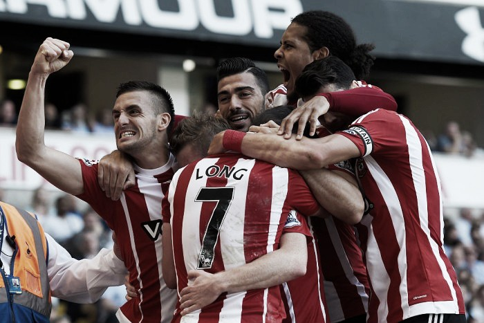 Tottenham Hotspur 1-2 Southampton: Davis at the double as Saints' European march goes on