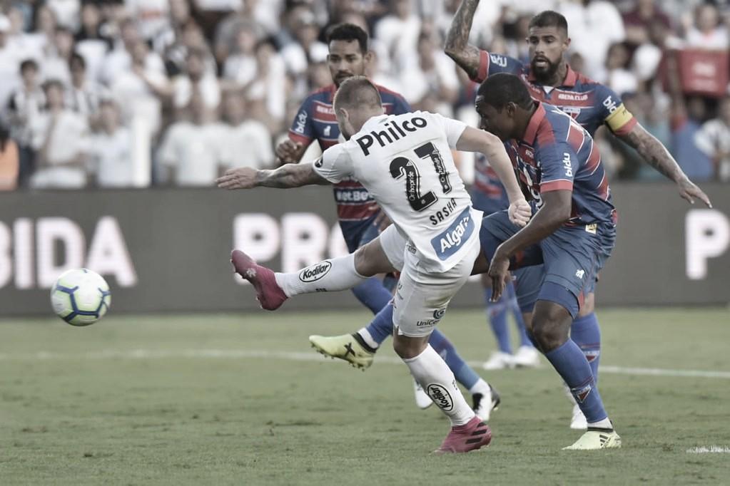 Gols e melhores momentos de Fortaleza 2x1 Santos pelo Campeonato Brasileiro 2019