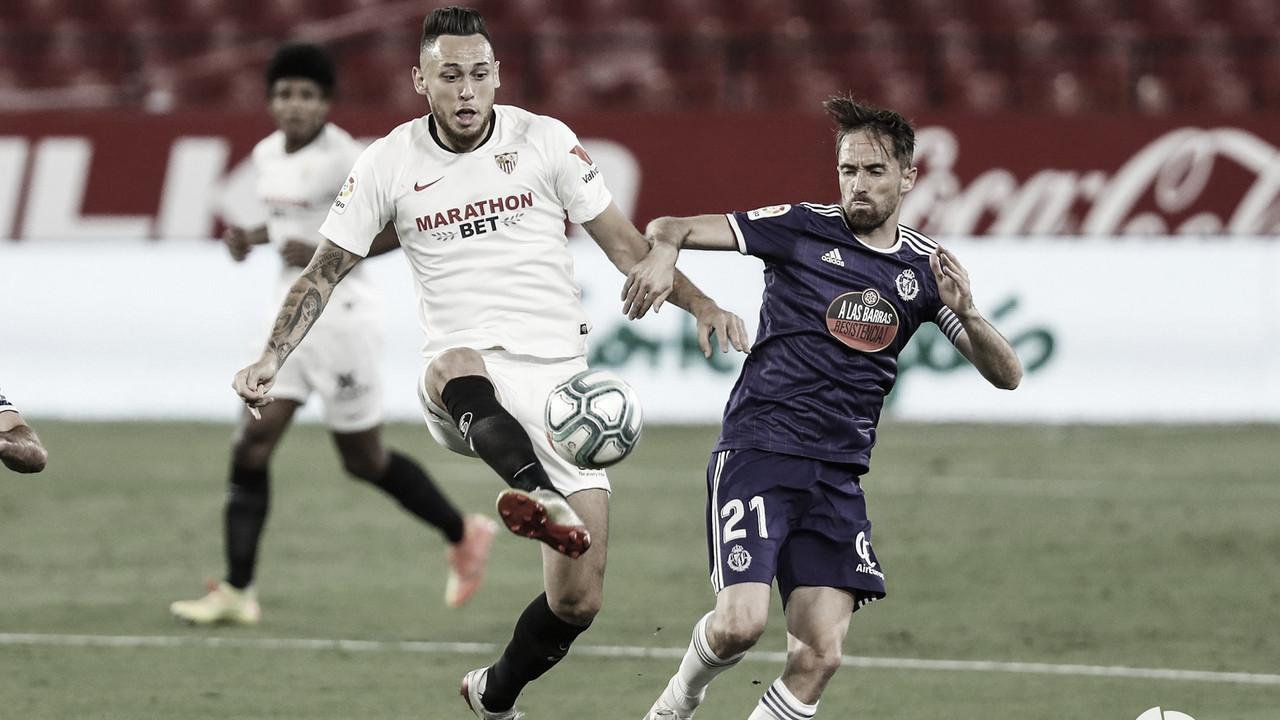 Análisis post partido: Sevilla y Valladolid empatan en el Sánchez Pizjuán, lo que no beneficia a ninguno