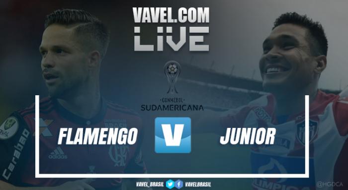 Resultado Flamengo x Junior Barranquilla pela Sulamericana 2017 (2-1)