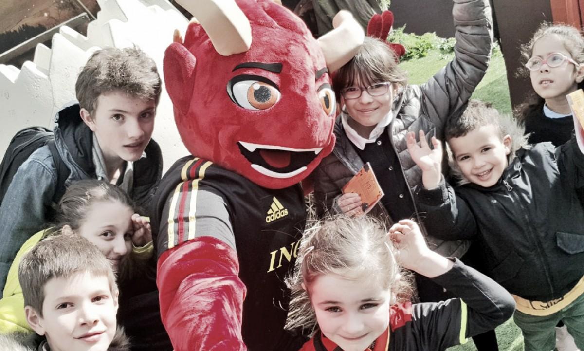 Seleção Belga divulga novo mascote para acompanhar equipe na Copa