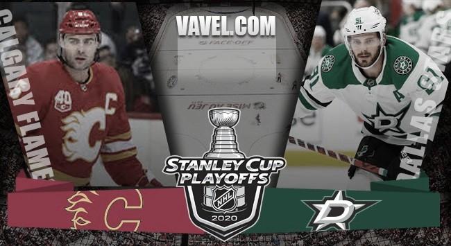 Previa Dallas Stars - Calgary Flames: un duelo inédito en una situación excepcional