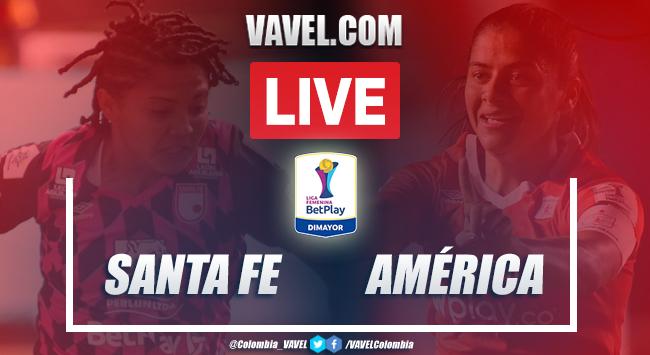 Resumen Santa Fe 2-0 América: el 'cardenal' es campeón de la Liga Femenina 2020