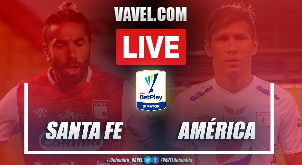Resumen Santa Fe vs América (2-0)