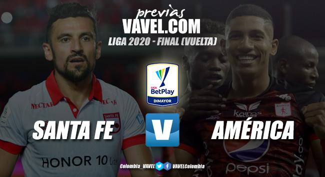 Previa Independiente Santa Fe vs. América: por la estrella de 2020