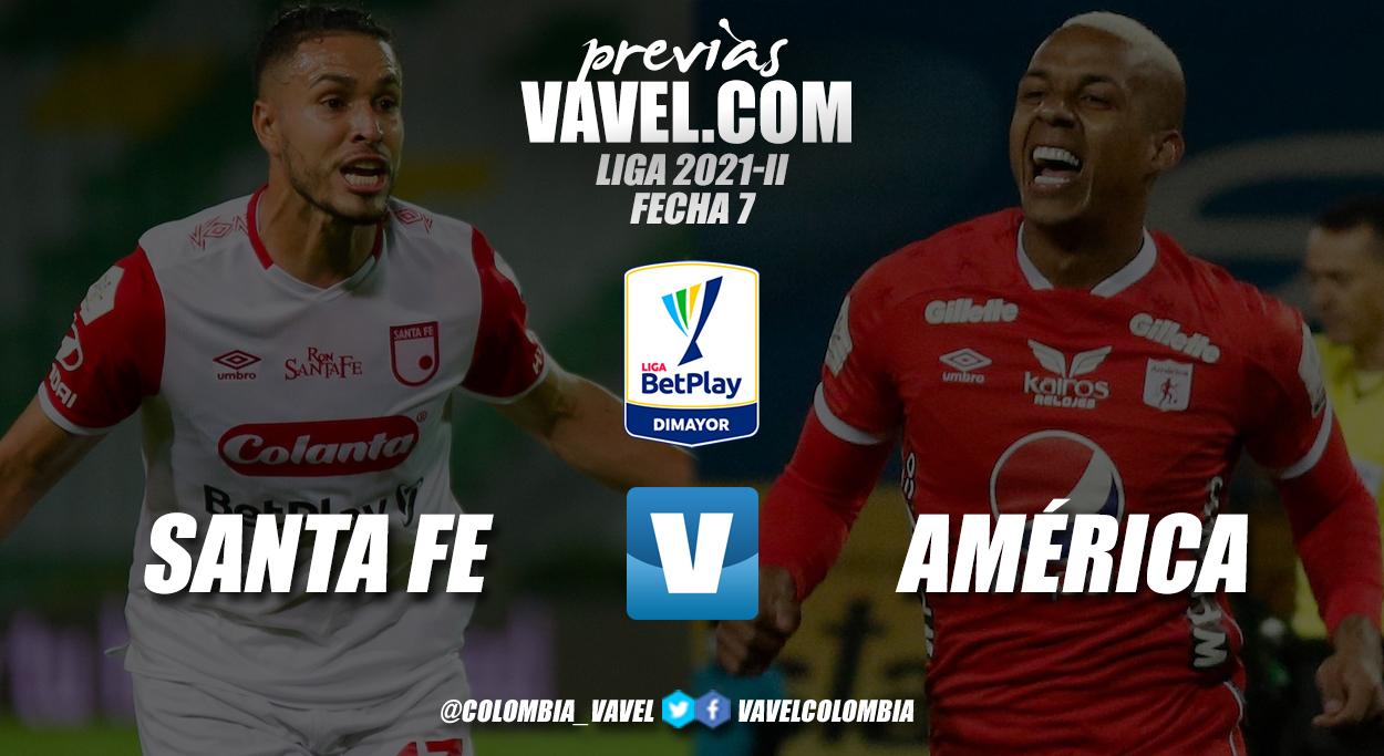 Previa Independiente Santa Fe vs. América: duelo de urgidos por la victoria