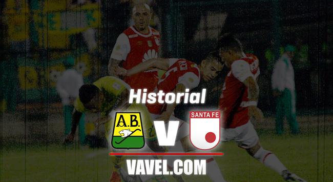 Historial Santa Fe vs Atlético Bucaramanga: ventaja 'cardenal' ante los 'leopardos'