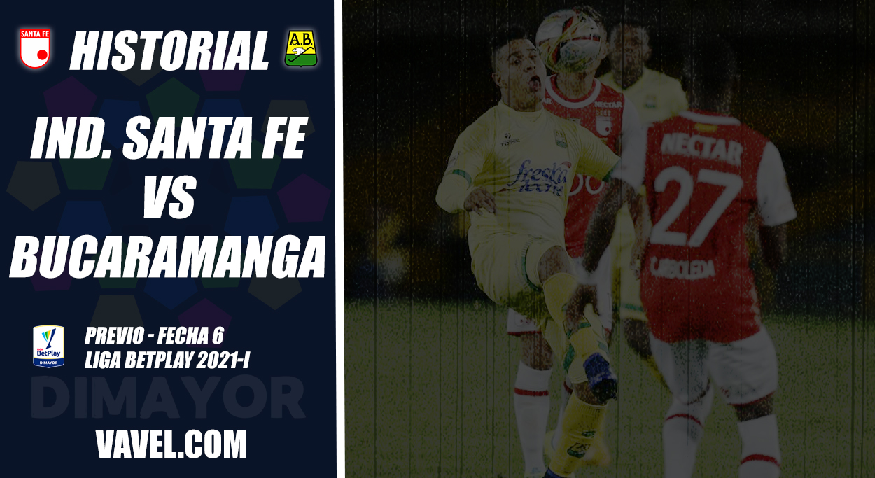 Historial Independiente Santa Fe vs. Atlético Bucaramanga: hegemonía 'cardenal'